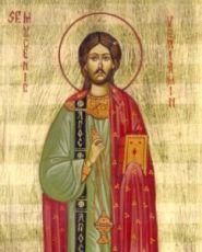 Вениамин Персидский (рукописная икона)