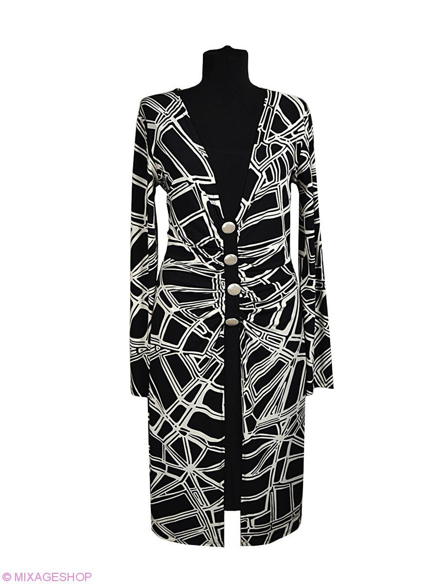 Комплект из накидки и черного платья без рукава