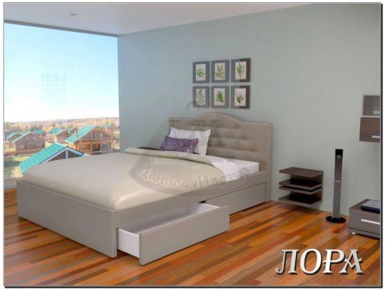 Кровать Лора мягкая