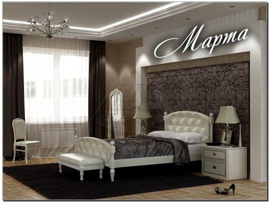 Кровать Марта мягкая