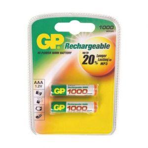 Аккумулятор GP AAA 1000 mAh (2 шт.)