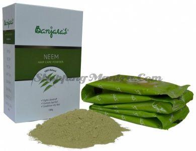 Порошок Ним лечебная маска для волос Банджарас | Banjara's Neem Powder