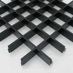 Грильято черный 100Х100