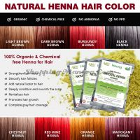 Натуральная краска на основе хны (светло-коричневый) Аллин Экспортерс | Allin Exporters Light Brown Henna Hair Color
