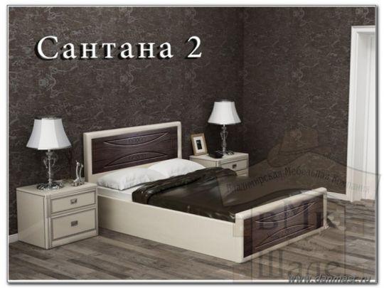 Кровать Сантана 2 мягкая