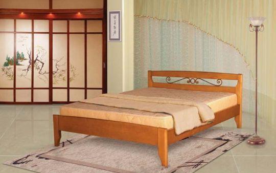 Кровать Полонез 3 с ковкой