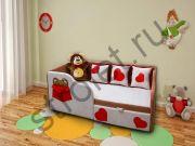 "Детский диван ""Тед"" левый"
