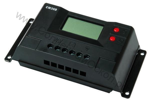 Контроллер CM30 30A 12V24V auto switch