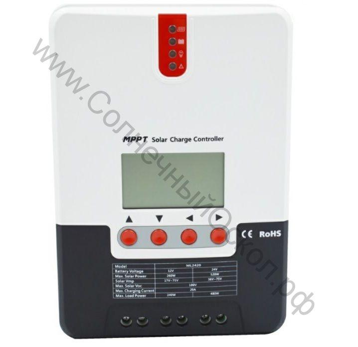 MPPT SRNE SR-ML4830 30A 12V/24/48V
