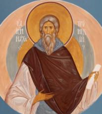 Иринарх Троицкий (рукописная икона)