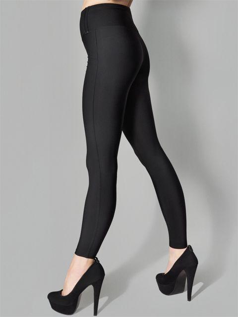 Черные корректирующие легинсы размер XL от Marylin