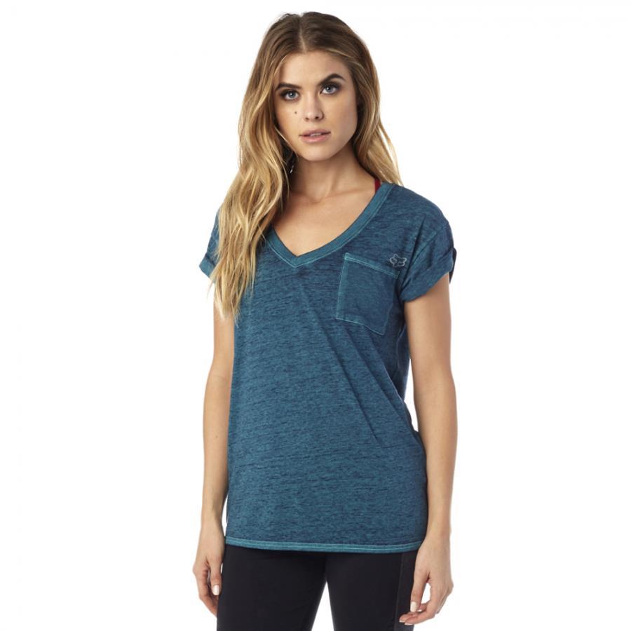 Fox - Whirlwind SS Tee Indigo футболка женская, синяя