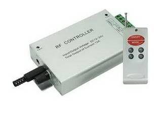 Ecola Аудиоконтроллер 12V 144W(24V 288W) 12A RGB c радиопультом управления (цветомузыка) RCM12AESB