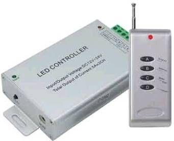 Ecola Контроллер 12V 180W(24V 360W) 15A RGB c радиопультом управления RFC15AESB