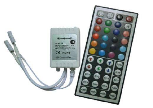 Ecola Контроллер 12V 72W 6A RGB c большим ИК пультом CRL072ESB