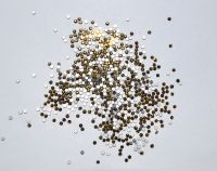 Камни Swarovski золотые (размер #4) - 100 штук