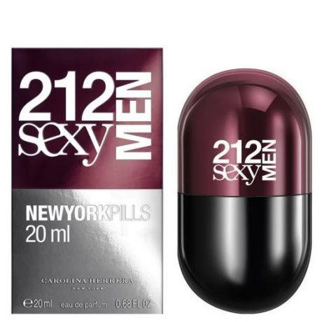 "Туалетная вода Carolina Herrera ""212 Sexy Men Pills"", 100 ml"