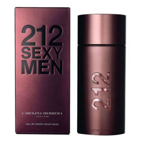 "Туалетная вода Carolina Herrera ""212 Sexy Men"", 100 ml"