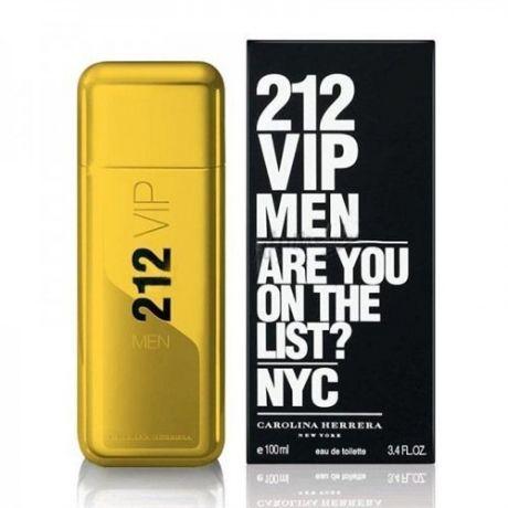 "Туалетная вода Carolina Herrera ""212 VIP Men Gold"", 100 ml"