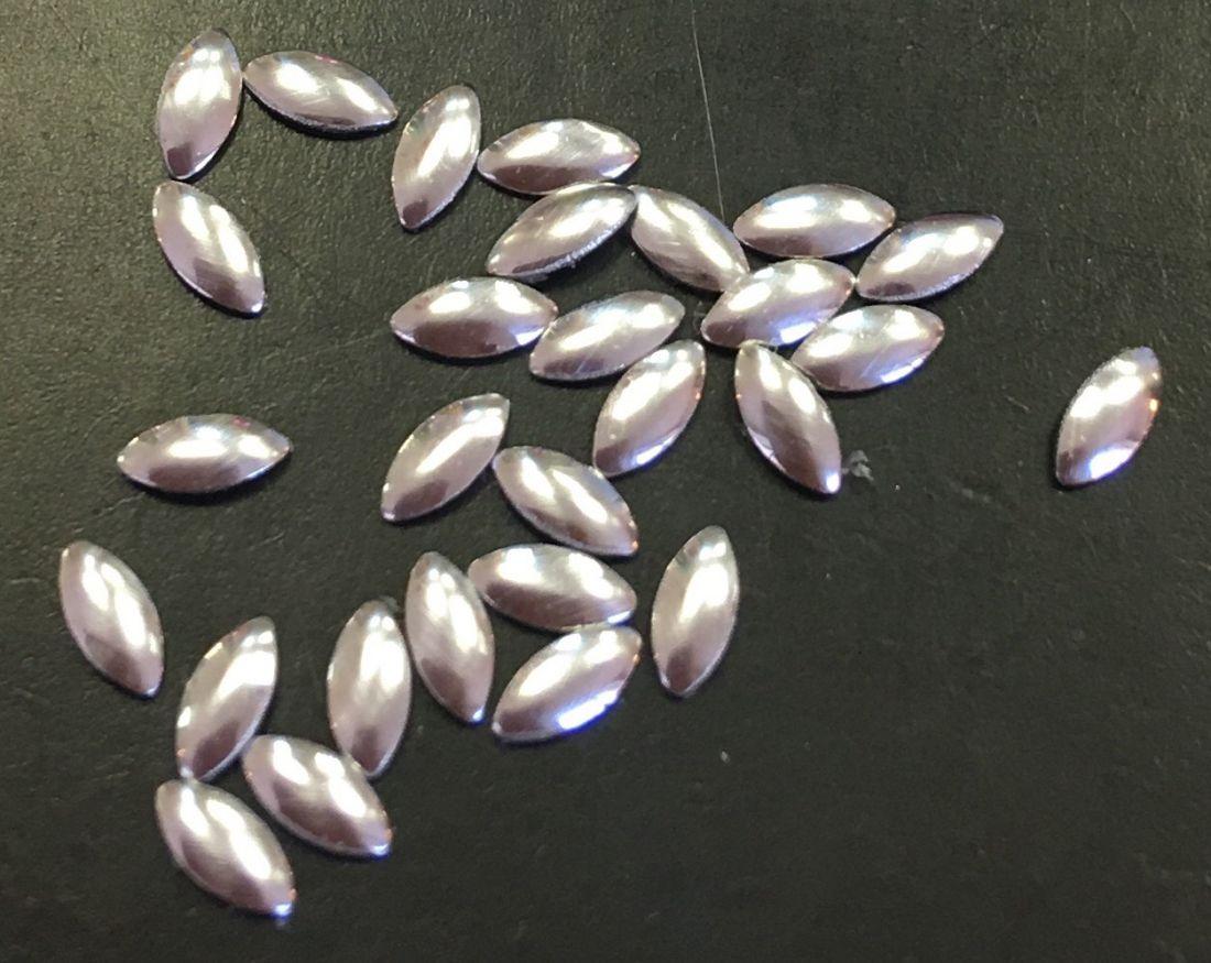 лепесток металлический d.4мм 30шт. (серебро)
