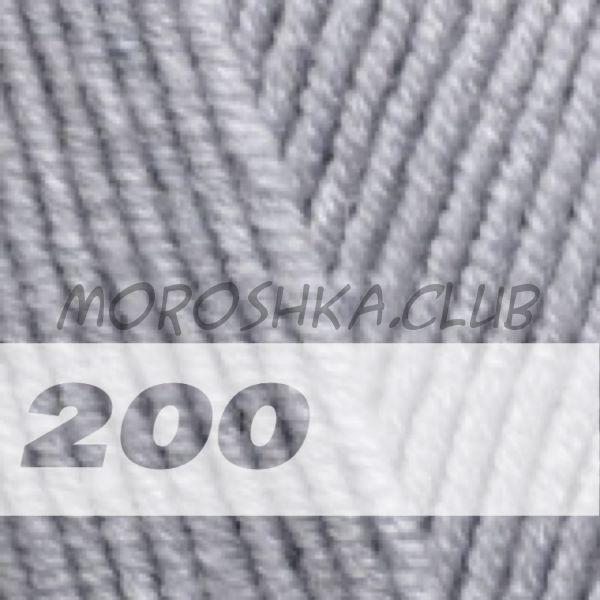 Серый Lanagold Alize (цвет 200)