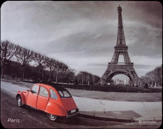"""Коврик для компьютерной мыши Defender Journey """"Paris"""""""