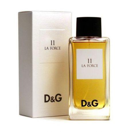 """Туалетная вода Dolce and Gabbana """"11 La Force"""", 100 ml"""