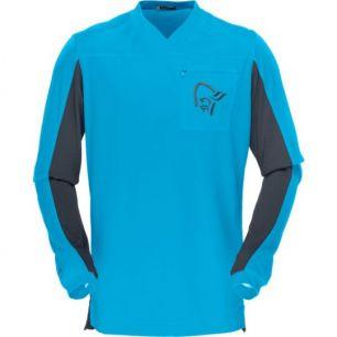 Norrona Fjora Equaliser Long Sleeve MTB Caribbean Blue M