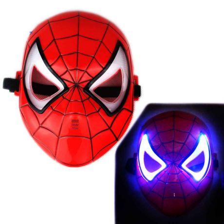 Маска Человека-паука (свет.)