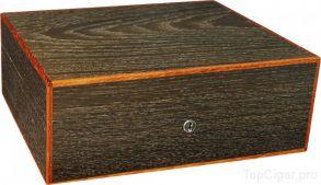 Хьюмидор Elie Bleu Классик на 75 сигар Smoked Oak with borders