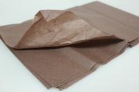 Бумага 76*50 см, коричневый, 10 лист/ уп