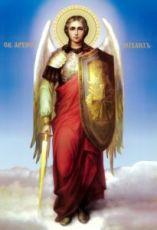 Икона Михаил Архангел (рукописная)