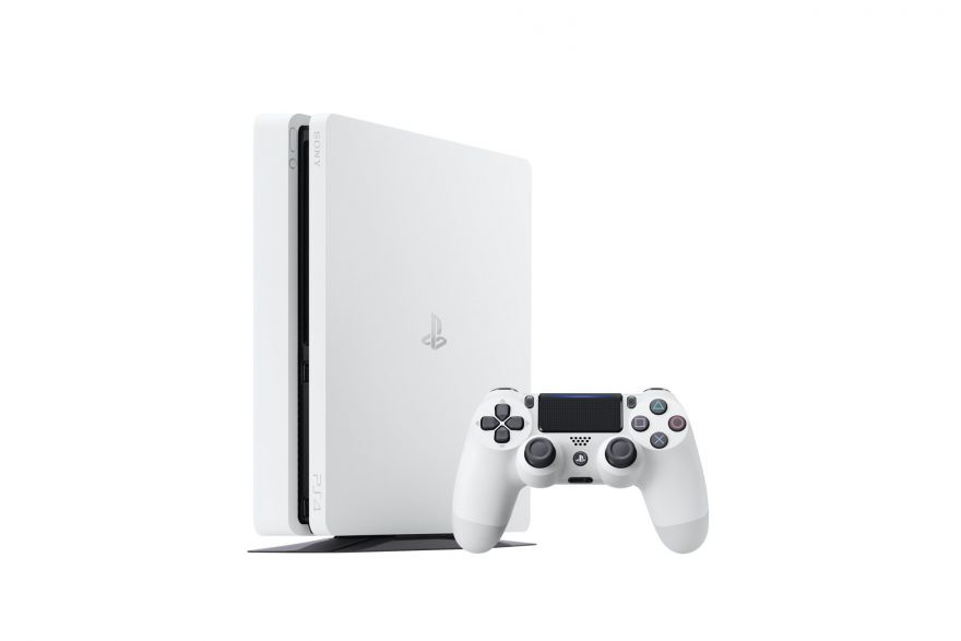 Игровая приставка Sony Playstation 4 Slim 500GB CUH-2116A (White)