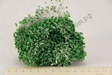 тычинки с блеском зелёные