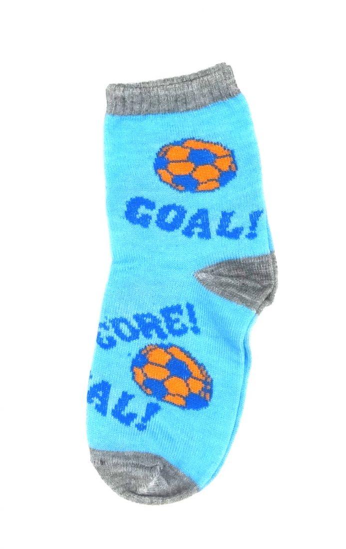 Голубые носки Футболист