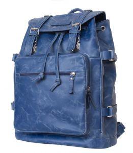 Кожаный рюкзак Carlo Gattini Volturno blue