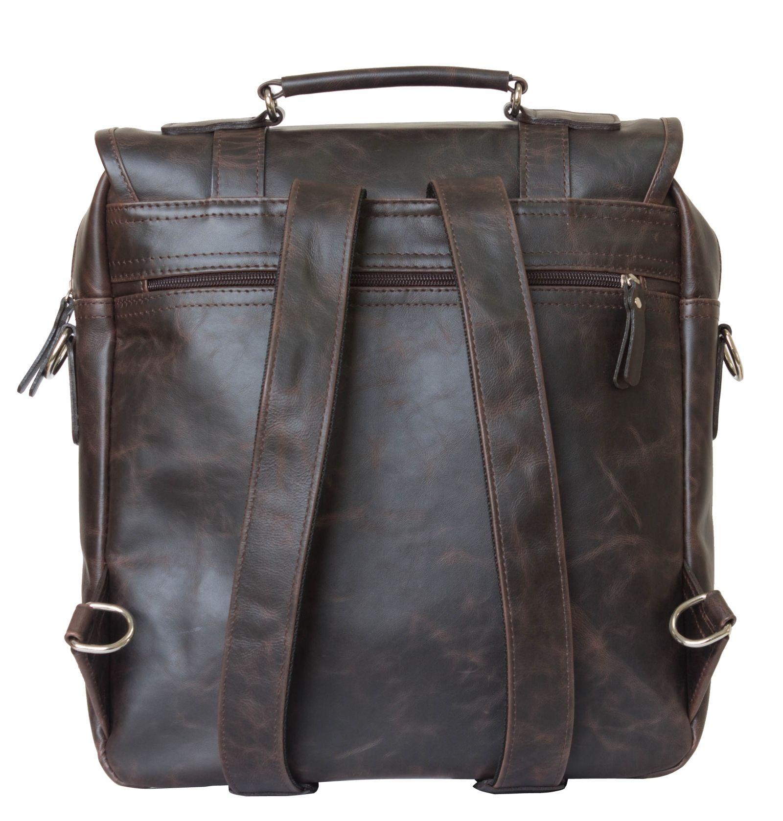 ab8f46b55b7c Универсальная сумка BRIALDI Somo (Сомо) black. Кожаная сумка-рюкзак Carlo  Gattini Tronto brown. ‹ ›