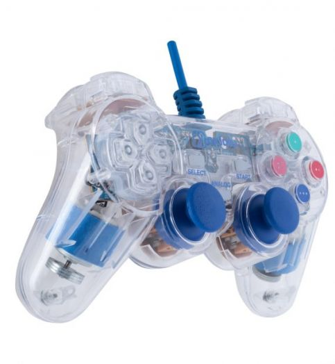 Геймпад OXION OGP02BL синий (PC / PS3)