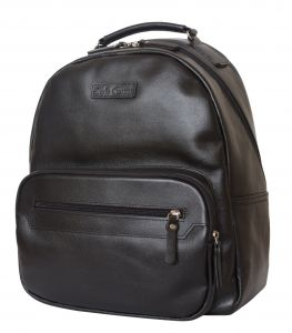 Кожаный рюкзак Carlo Gattini Ticino black
