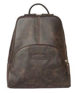 Женский кожаный рюкзак Carlo Gattini Estense brown