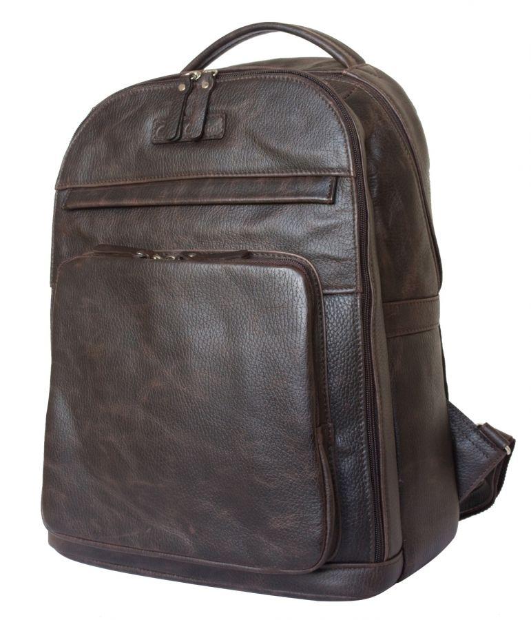 Кожаный рюкзак Carlo Gattini Montegrotto brown