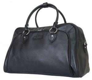 Кожаная дорожная сумка Carlo Gattini Vettore black