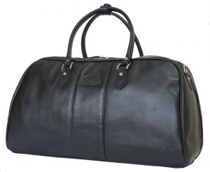 Кожаная дорожная сумка Carlo Gattini Normanno black