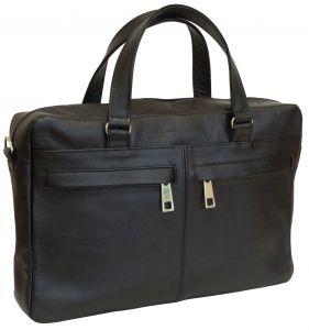 Кожаная мужская сумка Carlo Gattini Romeno black