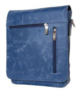 Кожаная мужская сумка Carlo Gattini Oscano blue