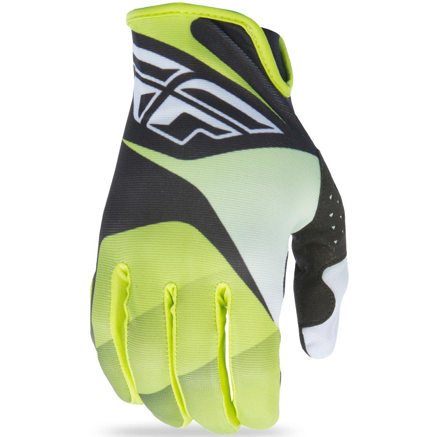 FLY - 2017 Lite перчатки, зелено-черно-белые
