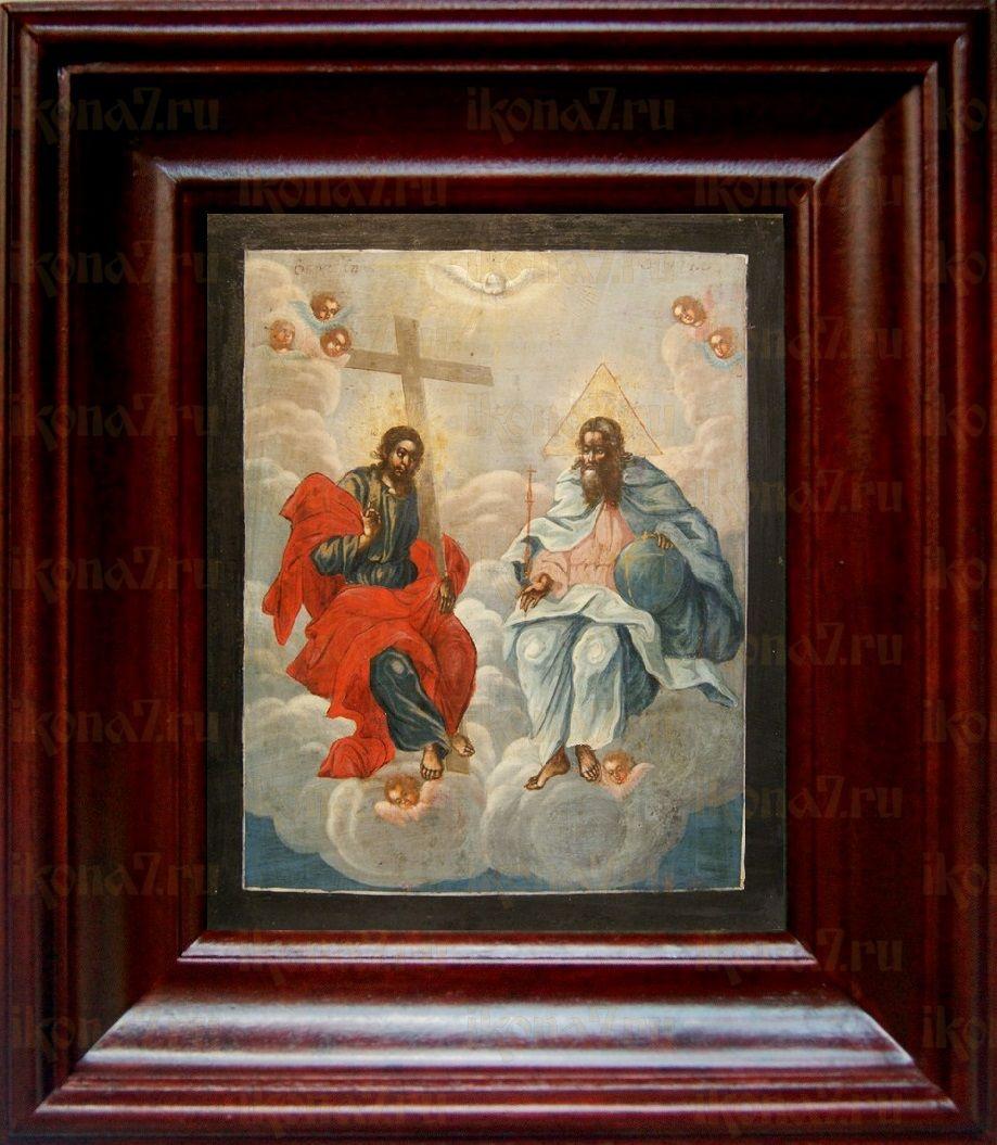 Новозаветная Троица (Сопрестолие), простой киот