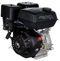Zongshen (Зонгшен) ZS 177 F четырехтактный бензиновый китайский двигатель для мотоблока, мотокультиватора мощностью 9 л.с., горизонтальный вал диаметром 25,4 мм., внешняя резьба.
