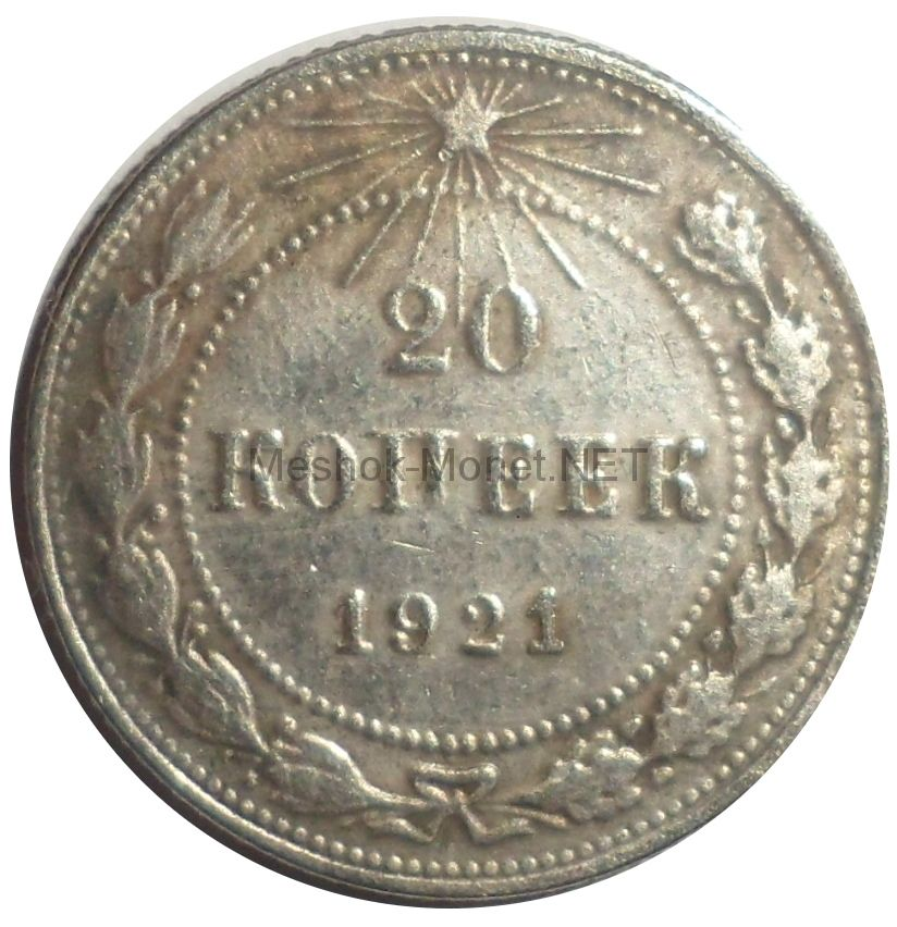 Копия монеты 20 копеек 1921 года