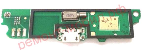 Плата зарядки Lenovo A516 с микрофоном